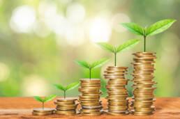 Green Plants Growing ESG